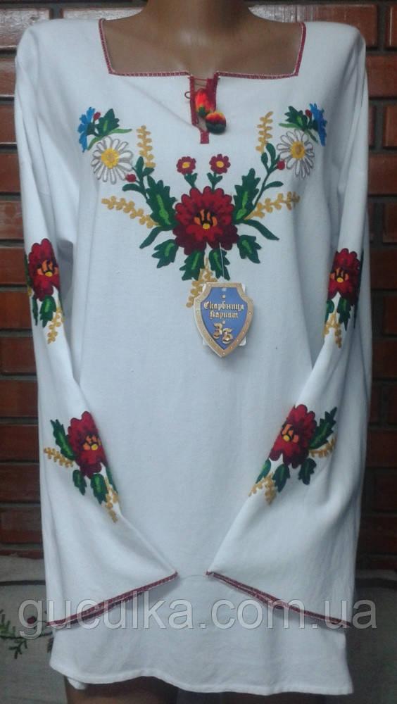 d5cf0a6d40e0cd Вишиванка з квітковим орнаментом машинна вишивка під замовлення, цена 1 599  грн., купить Яремче — Prom.ua (ID#612824187)