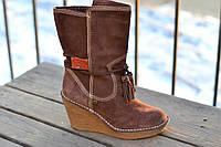 Сапоги ботинки женские Tommy Hilfiger. Оригинал. Замша. Сток.