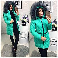 Куртка-пальто №01534 (наполнитель холлофайбер-сезон зима) 3 цвета в наличии