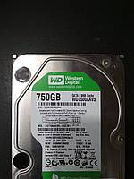 """НАДЕЖНЫЙ Жесткий диск HDD SATA на 750GB SATA2 3.5"""" WD ДЛЯ стационарного ПК в ИДЕАЛЬНОМ состоянии c ГАРАНТИЕЙ"""