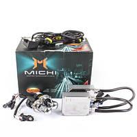 Комплект ксенонового света (биксенон) Michi H4 (ближний/дальний свет)  5000K 35W  Цвет белый
