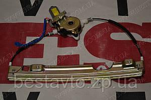 Стеклоподьемник задній елект лівий з двигуном amulet