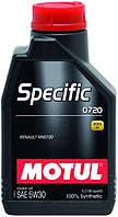 Моторное масло MOTUL Specific 0720 5W-30 1л