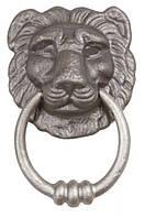 Ручка стучалка IBFM 856/M античное серебро
