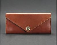 Кожаный кошелек 1.0 Коньяк, фото 1