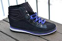 Ботинки зимние женские Puma черные. Оригинал. Замша.