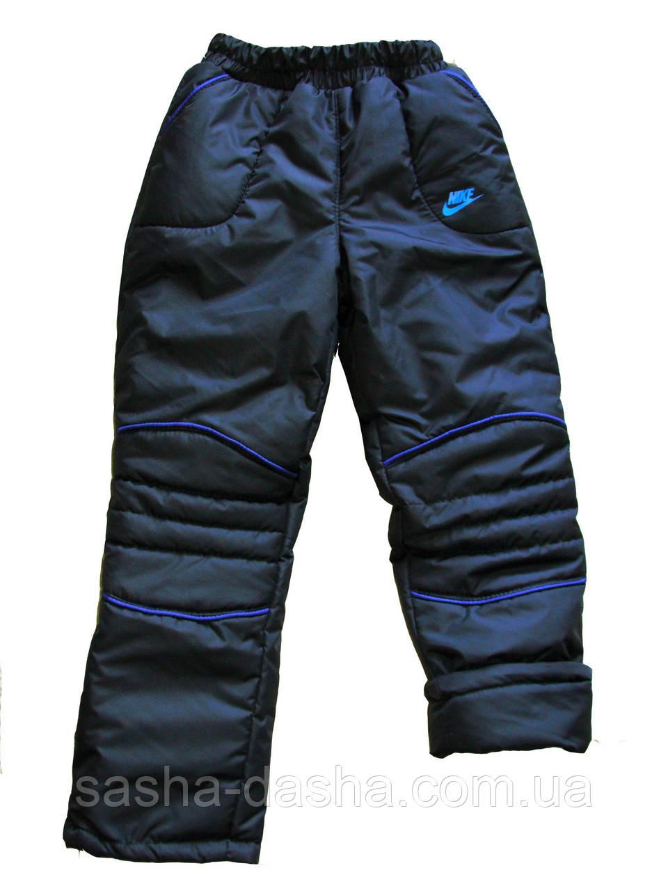 Теплые зимние штаны подростковые.