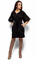 Ультрастильне чорне повсякденне плаття Valery (S-M, M-L)