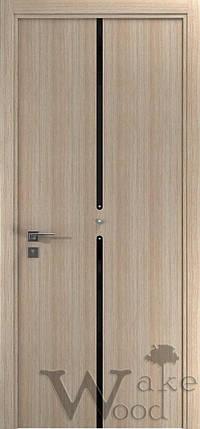 """Межкомнатные двери """"WakeWood"""" Cristal 03 (вертик. полоса с круглыми крист. Swarovski), фото 2"""