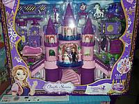 Замок свет музыка  карета куклы
