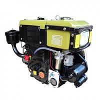 Дизельный двигатель R180E в сборе (электростартер) 8 л.с
