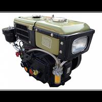 Дизельный двигатель 190R в сборе (ручной стартер) ZUBR 10 л.с