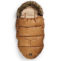 Зимний конверт с мехом Elodie Details цвет Chestnut Leather