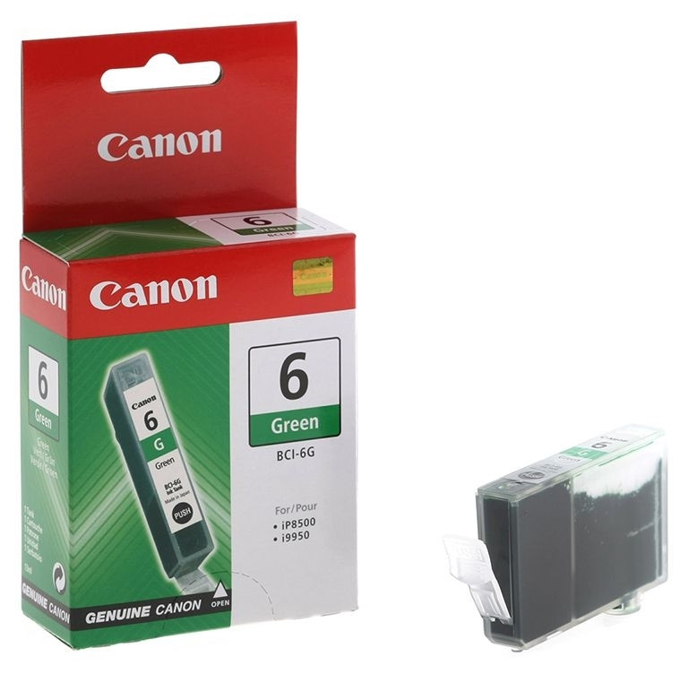 Чернильница Canon BCI-6G (Green) iP8500, i9950