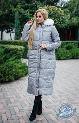 e222b3d5709b Женское зимнее пальто на синтепоне