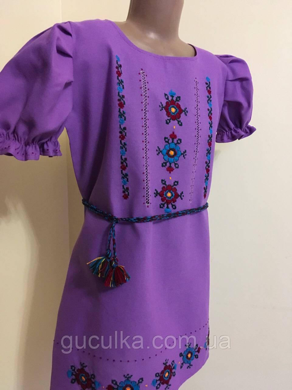 Сукня вишита для дівчинки ручної роботи 10-12 років - Інтернет-магазин
