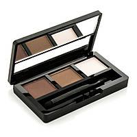 Тени для макияжа бровей BIOAQUA Powder Tree-Color Natural Eyebrow №1
