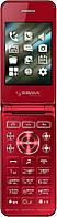 "Телефон Раскладушка Sigma Flip Red 2.8"" micro max 32 gb Раскладушка"