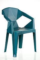 Кресло пластиковое Muzе tеalbluе plastic (Special4You-ТМ)
