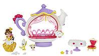 Игровой набор Hasbro для маленьких кукол Принцесс Комната для чаепития Белль (B5344_B5346)