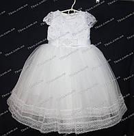 Детское платье бальное Мэри (белое) Возраст 4-5 лет., фото 1