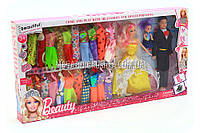 Семья кукол с набором платьев 8832B, фото 1