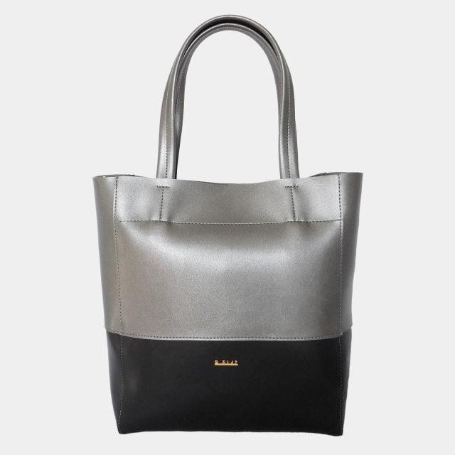 Сумка-шопер жіноча з екошкіри (срібло)   Сумка-шоппер женская из экокожи  (серебро) 620eb53e487b6