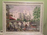 Картина «Париж» холст в рамке