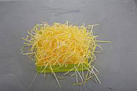 Наполнитель для коробок из пергамента, желтый