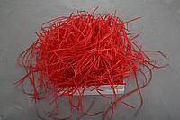 Наполнитель для коробок из пергамента, красный