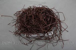 Наполнитель для коробок из пергамента, коричневый