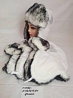 Подростковая шапка для девочки Снежная королева р.48-54