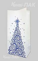 """Новогодний пакет для подарков """"Елка"""" 240х120х70"""