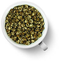 Китайский  зеленый  чай Хуа Лун Чжу (Жасминовая Жемчужина Дракона)