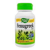 Пажитник Фенугрек 610 мг 100 капс восстановление гормонального баланса у женщин Nature's Way USA