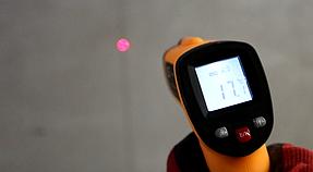 Температура пола после монтажа промышленных обогревателей