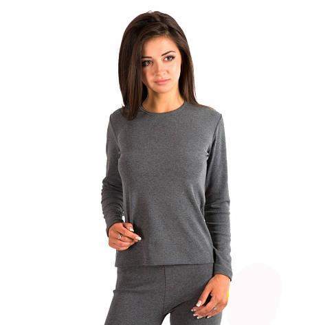 Термобелье - футболка с длинный рукавом черная 93-2330 (6), фото 2