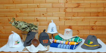 Где купить банные шапки оптом?