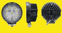 Дополнительные светодиодные фары дальнего света  05-27W Yellow