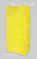 "Пакет для подарков ""Желтый"" 190х95х65"
