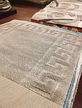 КОВЕР С ВЫСОКИМ ВОРСОМ  MICROFIBER TWO-LEVEL 02 BEIGE, фото 2