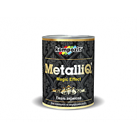 Эмаль акриловая декоративная MetalliQ Kompozit римское золото