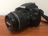 Зеркальный фотоаппарат Nikon D3200 18-55mm VR Kit идеал пробег 6400+карта памяти