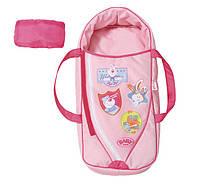 Люлька-переноска для куклы BABY BORN 2 в 1 СЛАДКИЕ СНЫ (с подушкой) Zapf (822203)