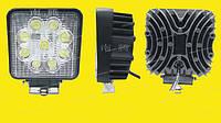 Дополнительные светодиодные фары дальнего света  06-27W Yellow