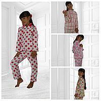 Детский домашний махровый костюм - пижама 007 РЕ