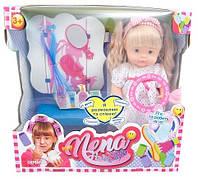 Говорящая кукла Bambolina Нена. Маленький стилист 36 см (BD388-50SUA)