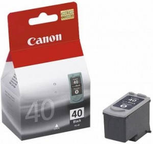 Картридж Canon PG-40Bk iP1600/ 1700/ 1800/ 2200/ 2500, MP150/ 170/ 450, Fax JX200/ 500, фото 2
