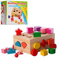 Деревянная игрушка Сортер MD 0956