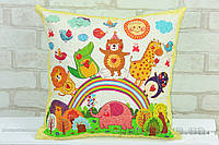 Подушка детская декоративная Loskutini Сказочные животные LK.4441 40х40 см